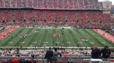 Ohio Stadium, section: 21C, row: 13, seat: 1