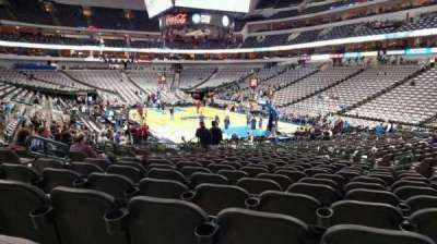 American Airlines Center section 114