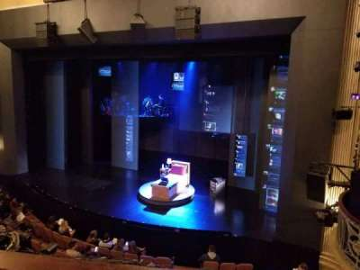 Music Box Theatre, section: Mezzanine R, row: C, seat: 12