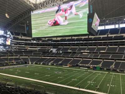 AT&T Stadium, section: C134, row: 18