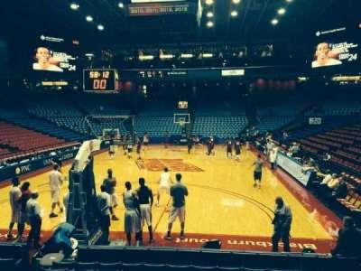 University Of Dayton Arena, section: 108, row: i, seat: 10