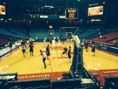 University Of Dayton Arena, section: 101, row: H, seat: 4