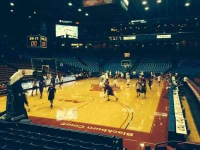 University Of Dayton Arena, section: 116, row: i, seat: 1