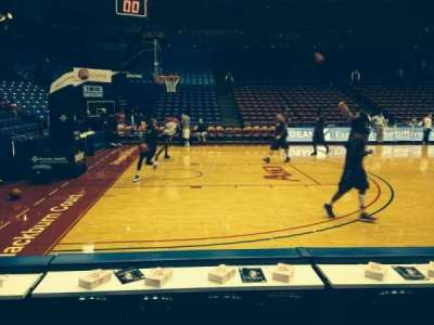 University Of Dayton Arena, section: 114, row: C, seat: 5