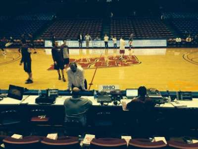 University Of Dayton Arena, section: 112, row: D, seat: 16