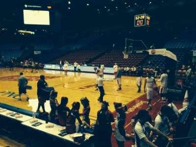 University Of Dayton Arena, section: 110, row: F, seat: 10