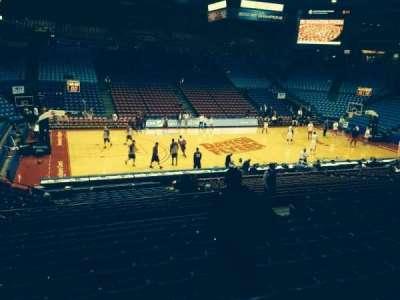University Of Dayton Arena, section: 220, row: L, seat: 10