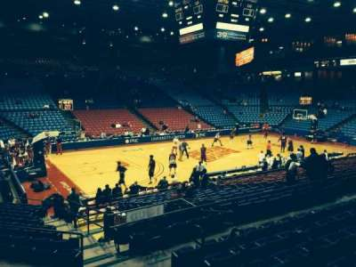 University Of Dayton Arena, section: 209, row: G, seat: 3