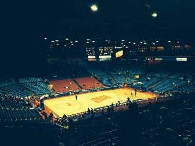 University Of Dayton Arena, section: 308, row: H, seat: 4