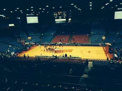 University Of Dayton Arena, section: 303, row: F, seat: 8