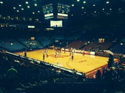 University Of Dayton Arena, section: 216, row: H, seat: 6