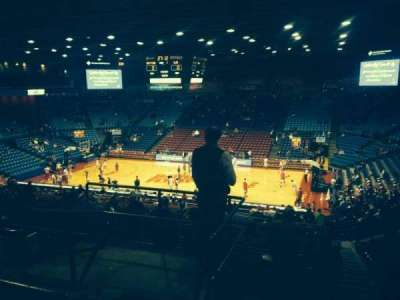 University Of Dayton Arena, section: 309, row: F, seat: 12