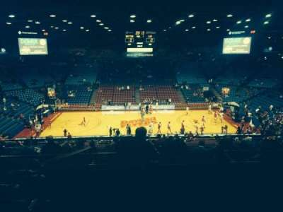University Of Dayton Arena, section: 311, row: H, seat: 11