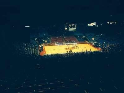 University Of Dayton Arena, section: 413, row: O, seat: 8