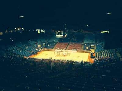 University Of Dayton Arena, section: 409, row: L, seat: 10