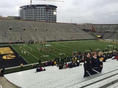 Kinnick Stadium, section: 131, row: 41, seat: 1