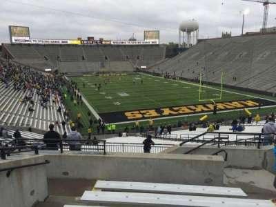 Kinnick Stadium, section: 219, row: 8, seat: 6