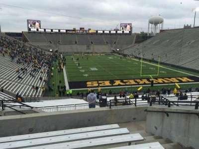 Kinnick Stadium, section: 218, row: 10, seat: 8