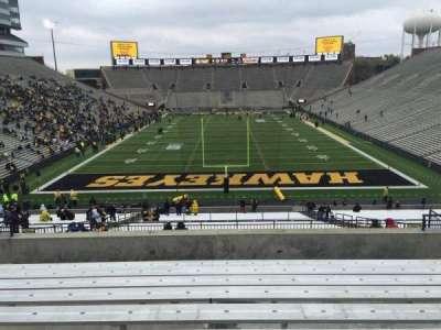 Kinnick Stadium, section: 216, row: 10, seat: 14
