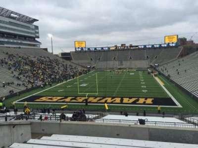 Kinnick Stadium, section: 215, row: 10, seat: 15
