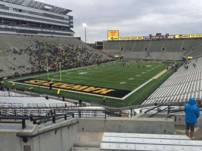 Kinnick Stadium, section: 212, row: 10, seat: 8