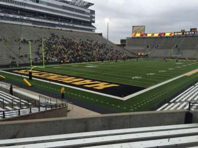 Kinnick Stadium, section: 111, row: 27, seat: 15