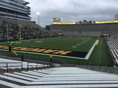 Kinnick Stadium, section: 113, row: 25, seat: 14