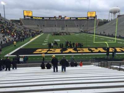 Kinnick Stadium, section: 117, row: 24, seat: 14