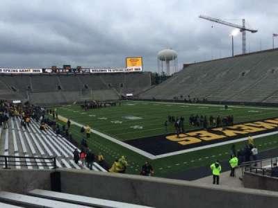Kinnick Stadium, section: 121, row: 26, seat: 10