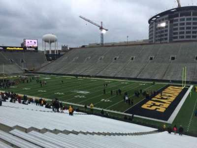 Kinnick Stadium, section: 122, row: 42, seat: 9