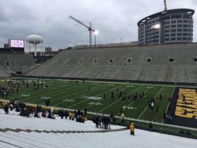 Kinnick Stadium, section: 123, row: 42, seat: 36