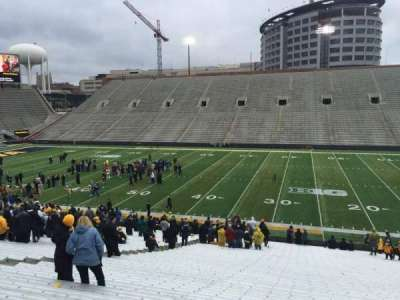 Kinnick Stadium, section: 125, row: 42, seat: 14