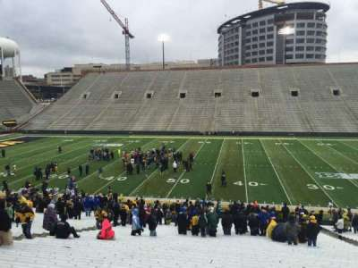 Kinnick Stadium, section: 126, row: 42, seat: 13