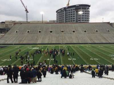 Kinnick Stadium, section: 127, row: 42, seat: 14