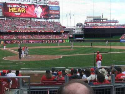 Great American Ball Park, section: 25, row: 2, seat: 8