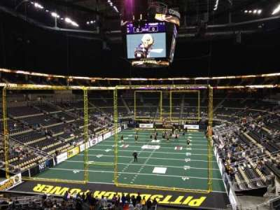 PPG Paints Arena, section: Club 11, row: B, seat: 4
