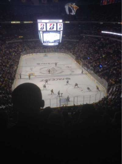 Bridgestone Arena, section: 317, row: M, seat: 13