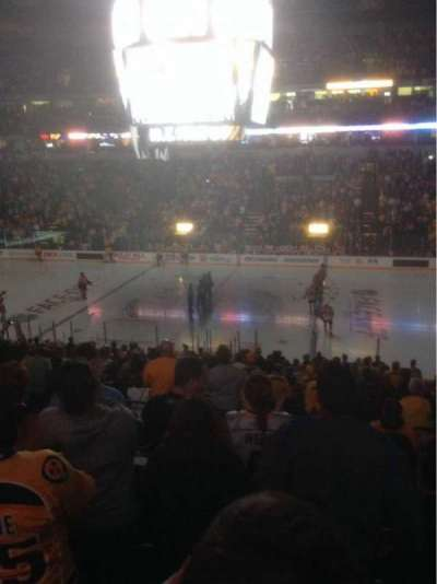 Bridgestone Arena, section: 106, row: P, seat: 1