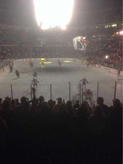 Bridgestone Arena, section: 110, row: C, seat: 9