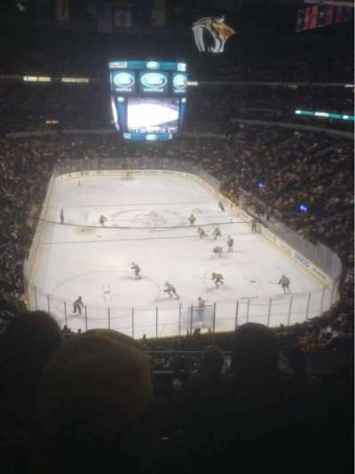 Bridgestone Arena, section: 317, row: G, seat: 16