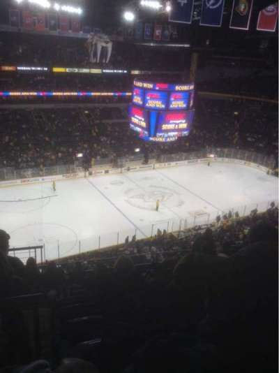 Bridgestone Arena, section: 307, row: J, seat: 13