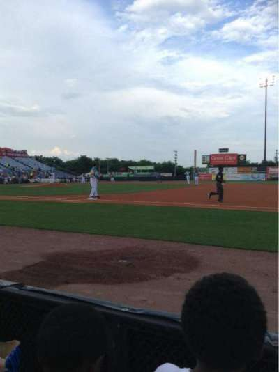 Herschel Greer Stadium, section: G, row: 2, seat: 15