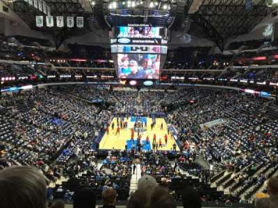 American Airlines Center, section: 201, row: D, seat: 5