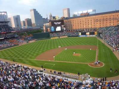 Oriole Park at Camden Yards section 246