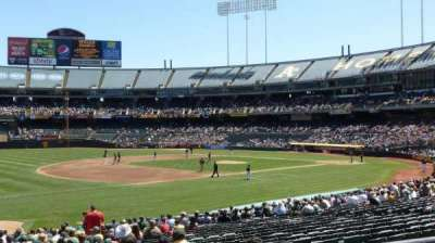 Oakland Alameda Coliseum section 126R