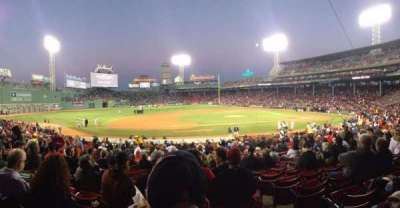 Fenway Park section Loge Box 149