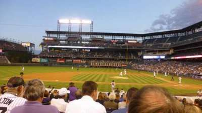 Coors Field section 137