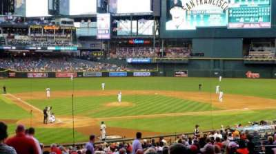 Chase Field, section: 119, row: 35, seat: 16