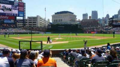 Comerica Park section 127