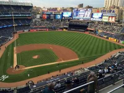 Yankee Stadium, section: 419, row: 1, seat: 15